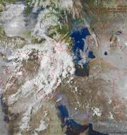 NOAA 15 northbound 24° E on 137.50MHz
