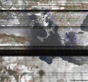 NOAA 15 northbound 20° W on 137.50MHz